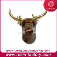 Buy cheap Polyresin Famous Animal Figurine Deer Head from wholesalers