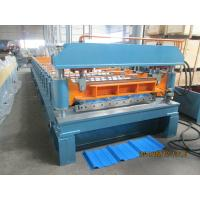 45# Steel Rib Panel Roll Forming Machine 20m / min Anti - Rust Roller Manufactures