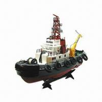 Buy cheap RC Seaport Work Boat with Professional Large Torsion Propeller System from wholesalers