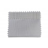 Buy cheap Antistatic 2.5mm Grid ESD Fabric Polyester 1/2 Twill White Blue Yellow Pink Stock from wholesalers