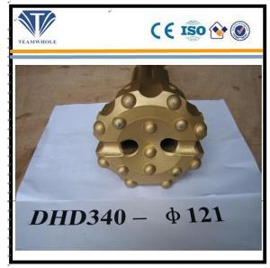 DHD340-121 Drill Hammer Bit, Hard Carbide Steel Top Hammer Drill Bits
