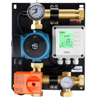 Buy cheap 8101 Intelligent Water Mixing Center Capacity Up to 200 SQM with Motorized Switch Valve & Auto. Pressure On/Off Function from wholesalers