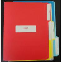 Buy cheap a4 plastic 3 ring file folders from wholesalers