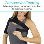 Buy cheap Custom Shoulder Compression Brace Rotator Cuff For Women Shoulder Splint Support Black from wholesalers