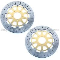 Buy cheap Front Round Motorcycle Brake Disc Rotor With Aluminum Alloy Stainless Steel from wholesalers