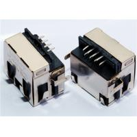 Buy cheap Mid mount RJ45 Connector PCB Mounting Low Profile TH, LPJE4713CNL Shielded from wholesalers