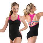 Buy cheap 2014 New adult ballet leotard with T-back two-tone color gymnastics leotard dance wear from wholesalers