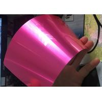 Buy cheap Antibacterial Translucent Candy Powder Coat , Metal Surface Candy Pink Powder Coat from wholesalers