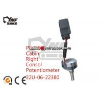 Buy cheap Potentiometer Ass'y 22U-06-22380 For Komatsu PC300-8 PC400-8 PC350-8 Throttle Locator komatsu excavator parts YNF02590 from wholesalers