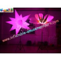 Buy cheap Star / Flower Inflatable Led Lighting Decoration For Party , 3m High from wholesalers