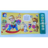 Buy cheap Voice recordable 6 Button Animal Sounds Book with Multi Sound Panels from wholesalers