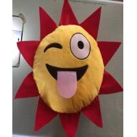 Quality plush cushion sun shape, moon shape, star shape for sale