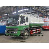 Wholesale ISUZU oil tanker trucks 16T with Good Quality  fuel pump transport or refuling  oil, diesel, gasoline, kerosene, from china suppliers
