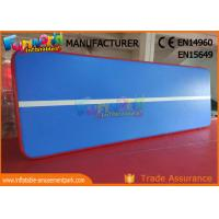 Buy cheap 15m 12m 10m Length Inflatable Sports Games / Gymnastic Air Track Mat from wholesalers