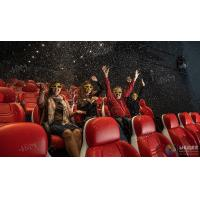 Wholesale Innovative Electric System 5D Movie Theater Cinema Equipment Black , Red Color from china suppliers