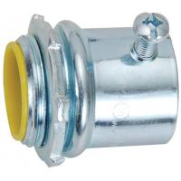 Wholesale 1st Class Watertight Emt Conduit Fittings Yellow Insulated Set Screw Connectors from china suppliers