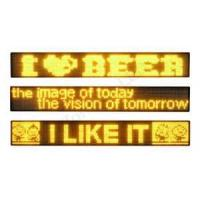 Buy cheap 5 Color Full Matrix LED Solar Powered Led Traffic Signs 2600 * 1600mm Rotating 360 degree  from wholesalers