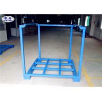 Buy cheap Cargo Forklift Stacking Pallet Racks Durable Galvanized Iron Steel Save Space from wholesalers