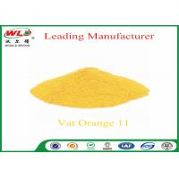 Buy cheap Synthetic Fabric Dye Powder C I Vat orange 11 vat yellow 3RT 100% Purity from wholesalers