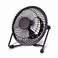 Buy cheap 6-inch Metal USB Mini Fan with Easy Installation, Safe and Environment-friendly Features from wholesalers