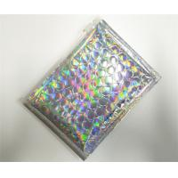Buy cheap Customized Holographic Bubble Mailers Shiny Color With Ziplock Closure Recyclable from wholesalers