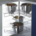 Buy cheap Kitchen Cabinet Organizer with Storage Baskets, Kitchen Storage System, Revolving Basket from wholesalers