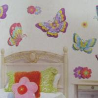 Buy cheap Eco-friendly PVC Removable 3D Glitter Wall Sticker/3D Sticker for Kids, with Water Resistance from wholesalers