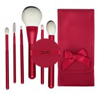 Buy cheap OEM high quality 6pcs JF goat natural hair makeup brushes set factory from wholesalers