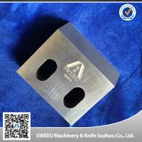 Buy cheap Excellent Cutting Rapid Granulator Blades , Plastic Grinder Blades HRC56-60 product