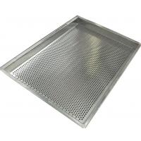 Buy cheap 316  Stainless Steel Mesh Tray Oven Metal Perforatted Baking 2.0mm Thickness from wholesalers