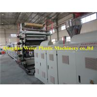 Buy cheap Wood Veneer Sheet / Pvc Marble Plastic Board Production Line 1-5m/Min from wholesalers