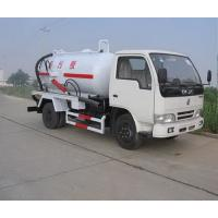 Buy cheap 2015 new 6m3 fecal suction truck vacuum tanks for sale flush truck from wholesalers