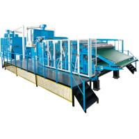 Buy cheap Fiber Processing / Nonwoven Carding Machine High Performance Dust Collection product