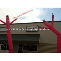 Buy cheap Customized Red Advertising Inflatable Windy Man , Giant Sky Dancer Blower from wholesalers
