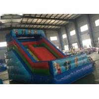 Buy cheap PVC Tarpaulin Commercial Snow Inflatable Dry Slide Frozen Bouncer Jumping Slide product
