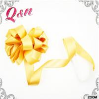 Buy cheap Custom cheap solid color polyester Decoration Tie Satin Ribbon Bow Washable Home Textile With Dyeing from wholesalers