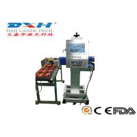 Buy cheap High Precision Automatic Laser Marking Machine 30W Co2 Laser MarkerFor Glass Products from wholesalers