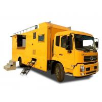 Buy cheap King Run Mobile Kitchen Truck For Outdoor Engineering Project Camping Dining from wholesalers