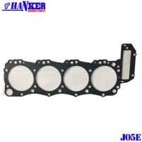 Buy cheap 11115-2780 Hino J05E Steel Cylinder Head Gasket Set from wholesalers