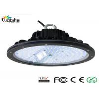 Aluminum Alloy IP 65 Ufo High Bay LED Light 80w 120 Degree Beam Angle Manufactures