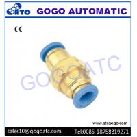 Buy cheap Straight Pneumatic Quick Couplings For 4mm Pneumatic Pipe / Air Hose One Touch Joint from wholesalers