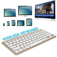 Wholesale Customized Logo Portable Bluetooth Keyboard With Long Service Life from china suppliers