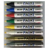 Buy cheap Valve-action Aluminum Barrel Paint Marker with Japanese Acrylic tip and opaque ink from wholesalers