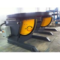 1100W Horizontal Automatic Pipe Welding Positioners 3 Ton Rotation Capacity Manufactures