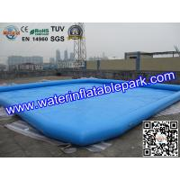 Buy cheap Large Square Inflatable Water Pool Outdoor Toys / Inflatable Swimming Pools from wholesalers