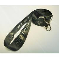 Buy cheap Black Color Custom Neck Lanyards With Your Logo , Bus Card / ID Card Lanyard from wholesalers