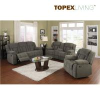 Buy cheap Stylish Sofa Loveseat with Console,Recliner Fabric Sofas,,living room sofa,Plush cushions and recliners offer comfort from wholesalers