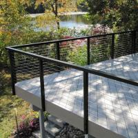 Wholesale High standard handrails for outdoor steps / terrace cable railings /Wire Staircase Balustrade from china suppliers