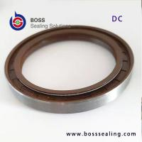 Buy cheap DC oil seal double spring oil seal NBR FKM/FPM rubber covered high pressure rotary shaft seals from wholesalers