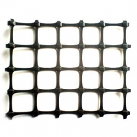 Buy cheap PP Extruded Geogridc 2cm*2cm small mesh 20KN/M 200gsm Geogrid Fabric for Safety Fence or Road Construciton-Roadgrid from wholesalers